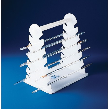 Horizontal Pipette Support Rack