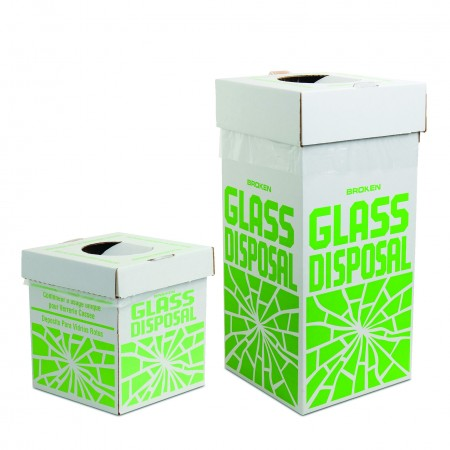 Cardboard Disposal Cartons for Glass