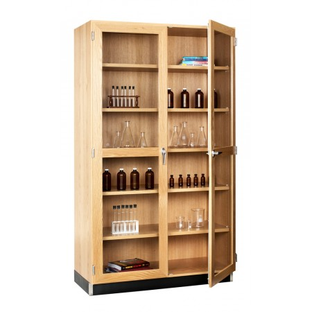 Tall Storage Cabinets (2 Glazed Doors)