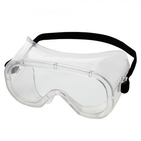 Advantage® Economy Goggles Direct Vent Goggle, Clear Fog-Free Lens