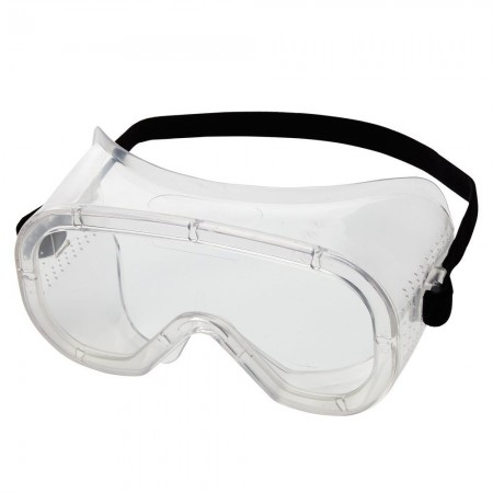 Advantage® Economy Goggles Vented Padded Goggle, Clear Fog-Free Lens