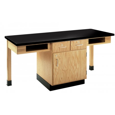 2 or 4 Student Work Station with Storage