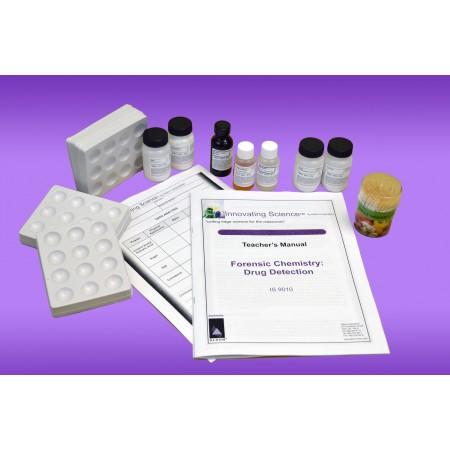 Forensic Chemistry of Drug Detection Kit