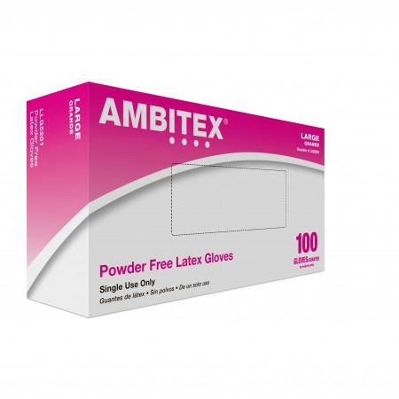 Latex Gloves - Powder-Free