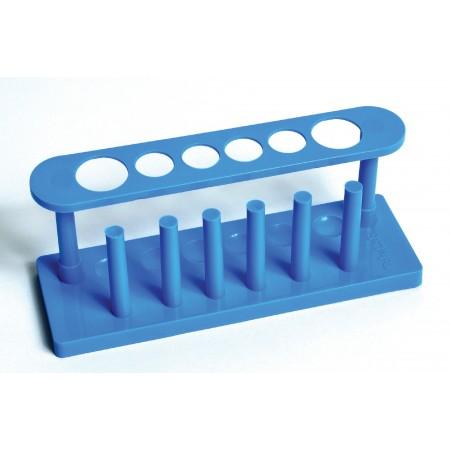 Plastic Test Tube Rack, 6-Hole