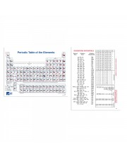 Periodic Table Chart, Notebook Pad/100 Sheets