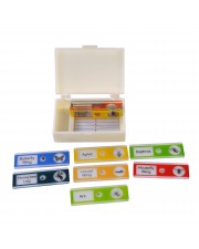 Prepared Microscope Slides, Plastic, Set/10, Insects