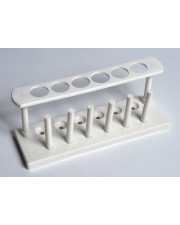 Plastic Test Tube Rack, 6-Hole, Unassembled