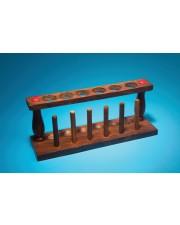 Wooden Test Tube Rack, 6-Tube