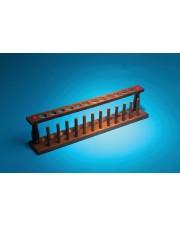 Wooden Test Tube Rack, 12-Tube