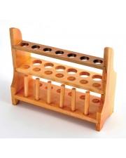 Wooden Test Tube Rack, 13-Tube