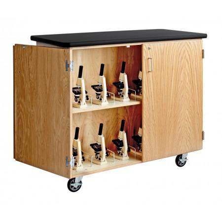 Mobile Microscope Storage Cabinet