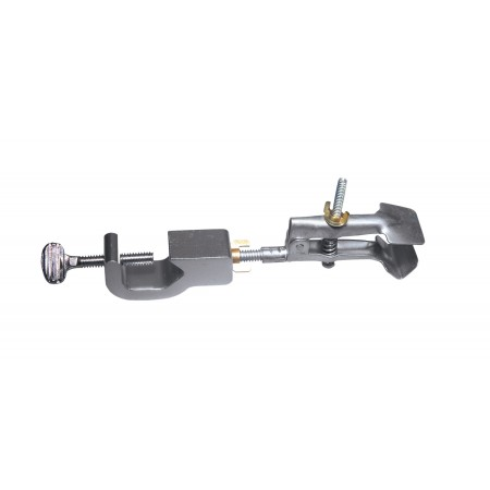 Buret Clamp w/Boss Head, Uncoated Jaws