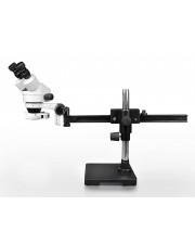 PA-2AE-IFR07 Binocular Zoom Stereo Microscope - 0.7X-4.5X Zoom Range, 144-LED Ring Light