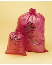 Red Biohazard Disposal Bags