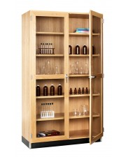 Tall Storage Cabinets (2 Glazed Doors)