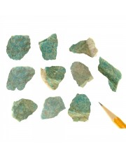Amazonite, Green Cleavages