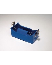 D Cell Battery Holder with Fahnestock Clips