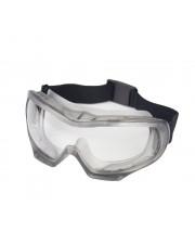Indirect Vent (Black) Chemical Splash Goggle, Clear Fog-Free Lens