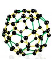 C-60 Buckminsterfullerene Molecular Model