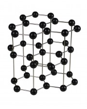 Graphite Molecular Model